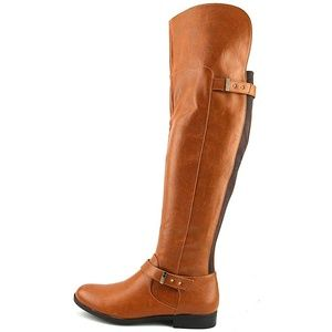 Bar III Daphne Over-The-Knee Riding Boots Brown 7M